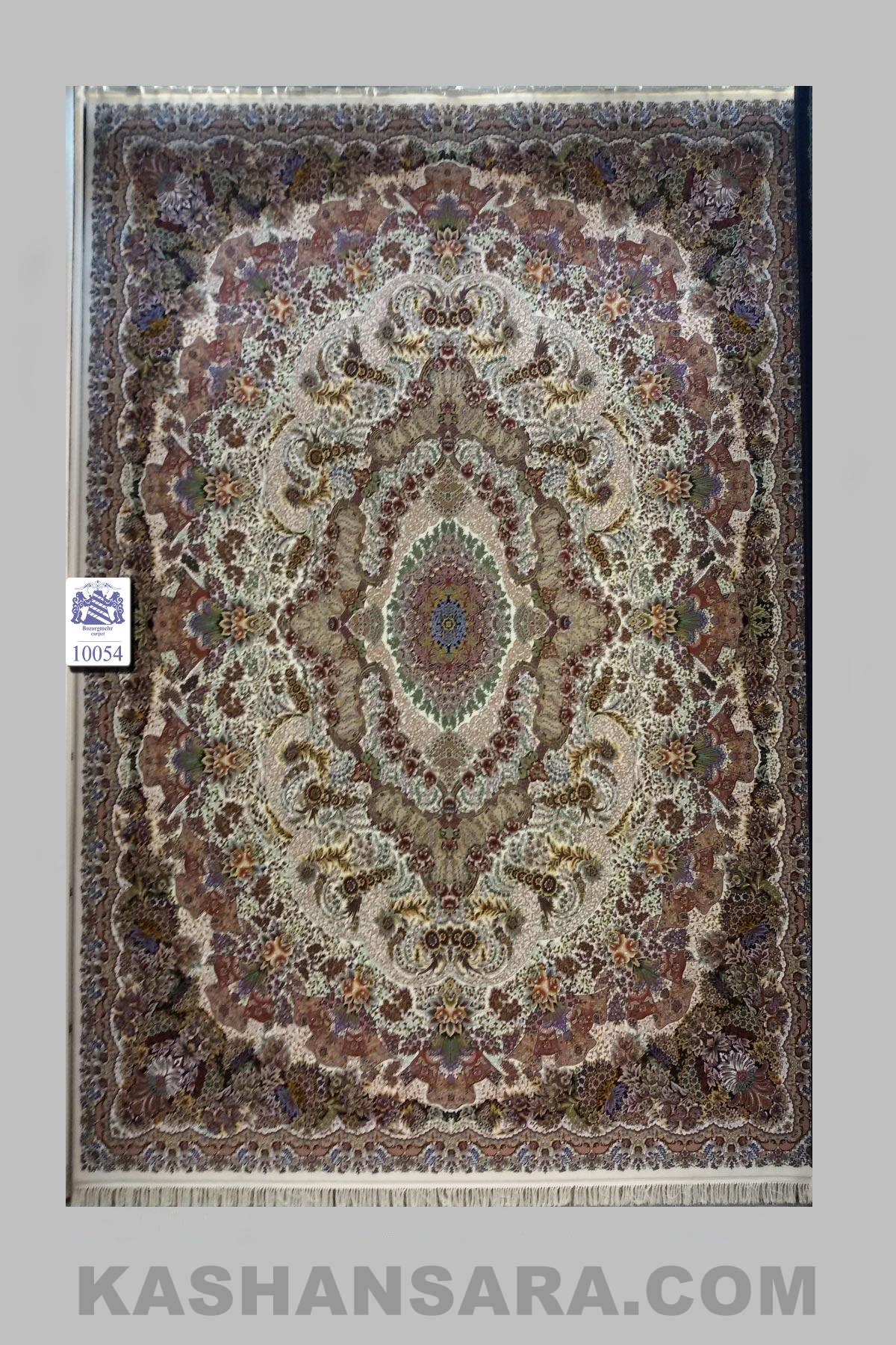 فرش ۱۰۰۰ شانه کاشان نقشه عروس
