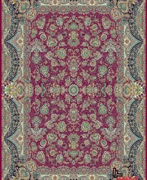 (1200 شانه)فرش کاشان بافت با کیفیت تراکم 3600