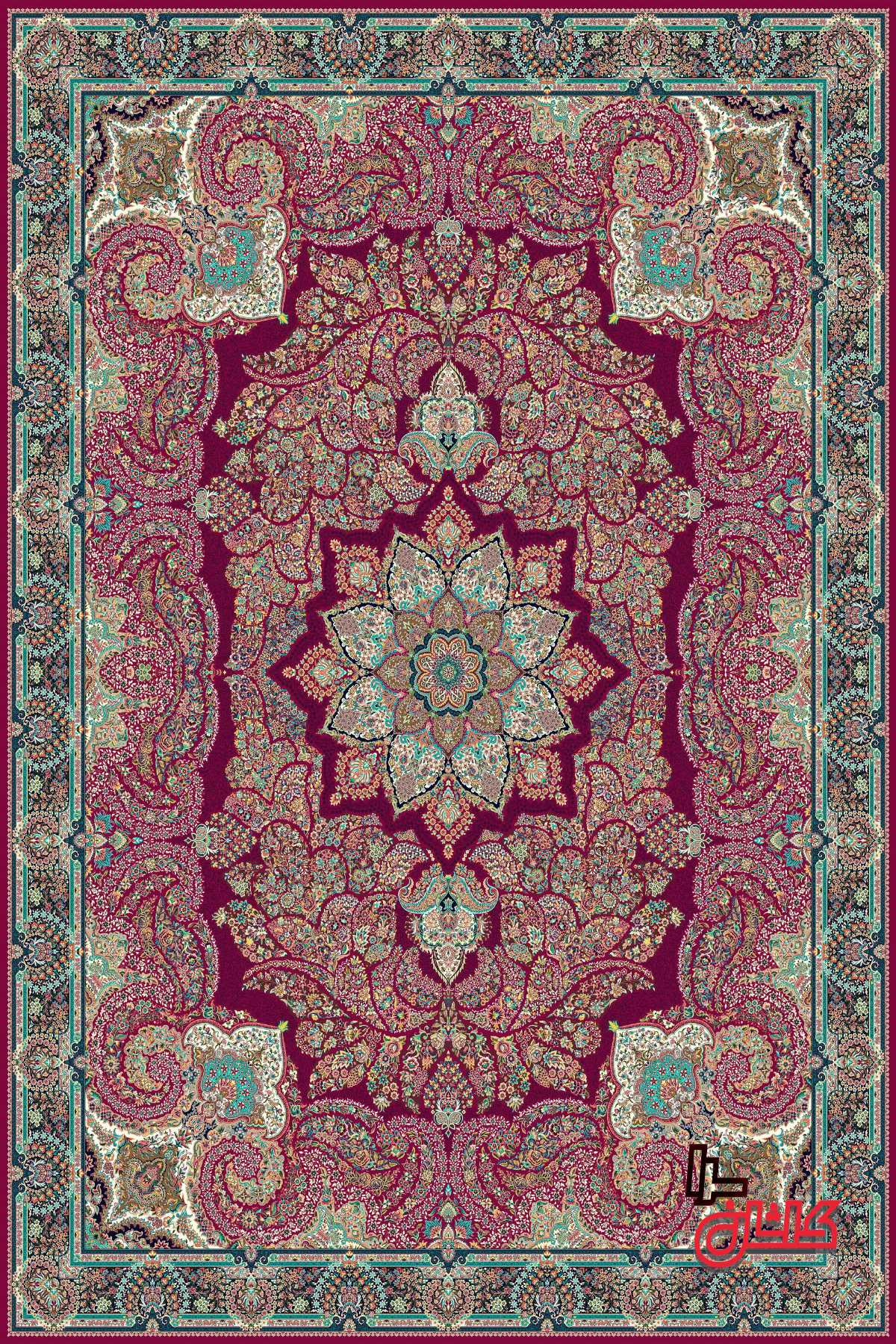 فرش های مدرن 1200 شانه هزارو دویست شانه اصل
