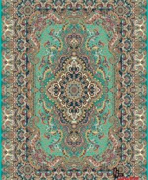 فرش کاشان 1200 شانه تراکم 3600+قیمت فرش