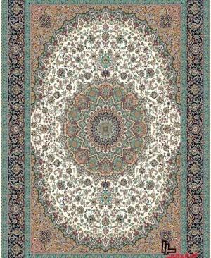 خرید فرش 1200 شانه اسایش طرح و رنگبندی جدید نخ ترک با علامت استاندارد ایران و ایزو اروپا
