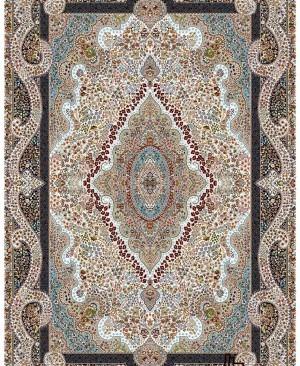 قیمت فرش ماشینی 700 شانه تراکم 2550 فرش کاشان