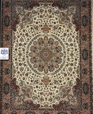 (1200 شانه) تو لید با کیفیت فرش کاشان  تراکم 3600 ریز بافت