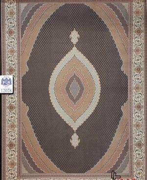 فرش 1200 شانه طرح دستبافت بافته شده با نخ ترک