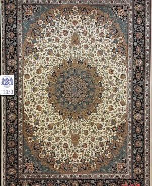 فرش 1200 شانه سبک اصیل اصفهان تراکم سه هزار و ششصد