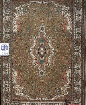 فرش گردویی 1200 شانه زیبا طراحی جدید