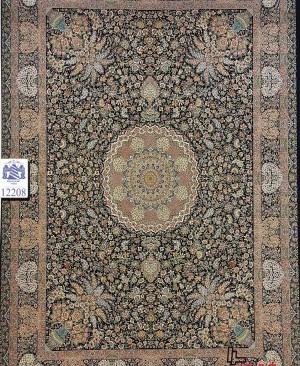 فرش ایرانی 1200 شانه دستبافت گونه تراکم 3600