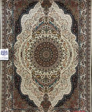 فرش ایرانی 1200 شانه تراکم 3600 محصول شرکت بزرگمهر کاشان