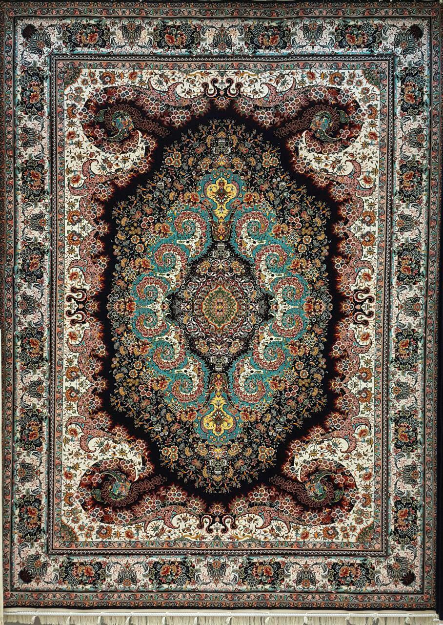 قیمت فرش ۱۲۰۰ شانه کاشان طرح ۱۲۲۱۸