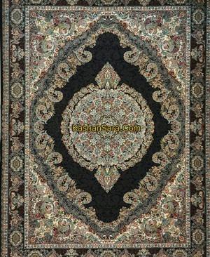 فرش ماشینی 1200 شانه کاشان کد 12202