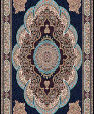 فرش کاشان 700 شانه طرح ارشیدا با رنگبندی زیبا و منحصر به فرد ،فرش ماشینی کاشان 700 شانه
