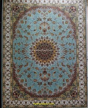 فرش 1200 شانه کاشان نقشه زیبای ثریا