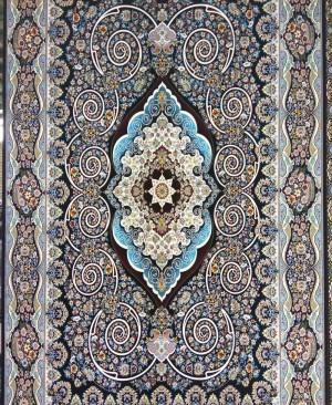 فرش کاشان 1200 شانه طرح فریبا