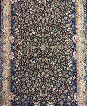 فرش 1200 شانه کاشان فرش طرح میگل