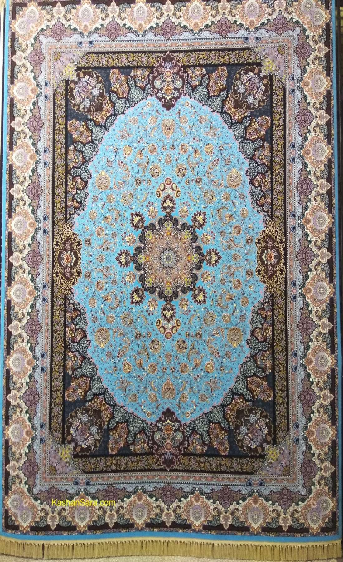 فرش ۱۲۰۰ شانه کاشان طرح نامیان