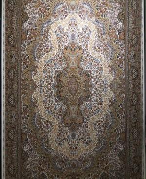 فرش کاشان 1000 شانه طرح گلستان