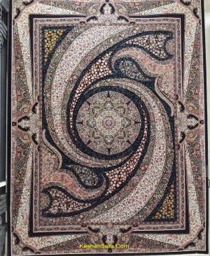 فرش 700 شانه طرح کهکشان