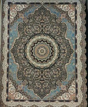 قیمت فرش ماشینی 1200 شانه کاشان کد 12041