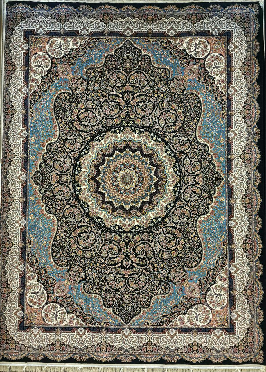 قیمت فرش ماشینی ۱۲۰۰ شانه کاشان کد ۱۲۰۴۱