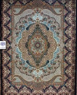 فرش ماشینی کاشان 1000 شانه کد 11019