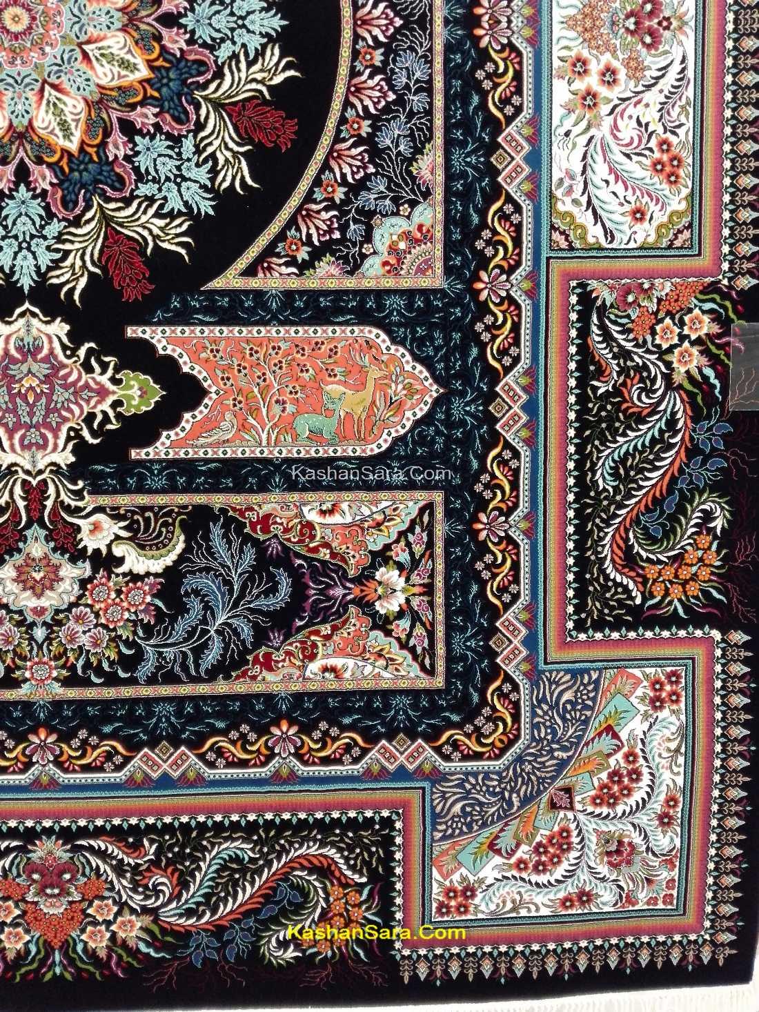 فرش ۷۰۰ شانه آتریسا محصول فرش کاشان