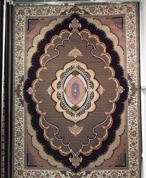 فرش ماشینی 1000 شانه طرح موج مهر