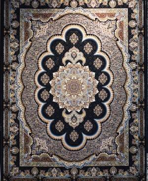 فرش ماشینی کاشان 1200 شانه طرح سامی