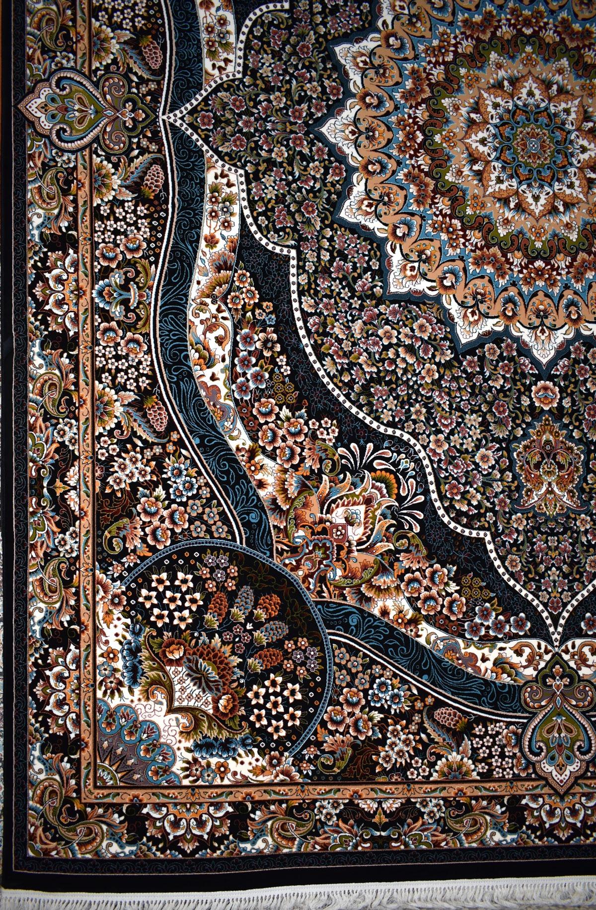 خرید فرش ماشینی ۷۰۰ شانه نقشه رضوان