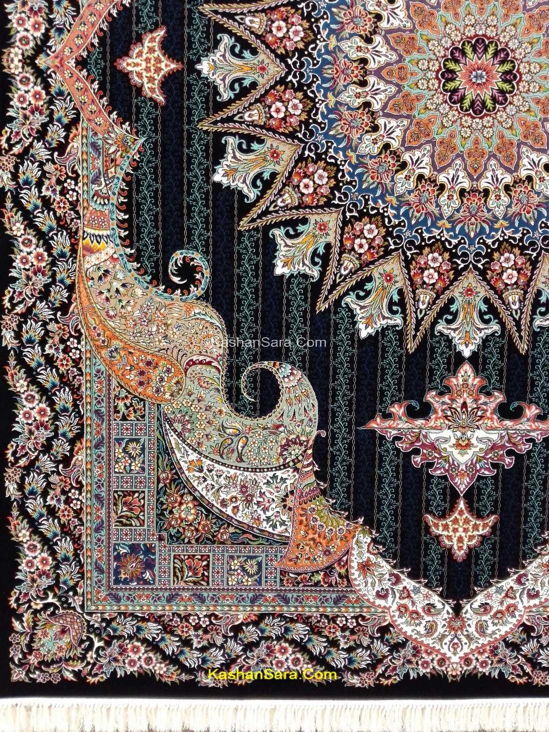 فرش اساطیر ۷۰۰ شانه ده رنگ