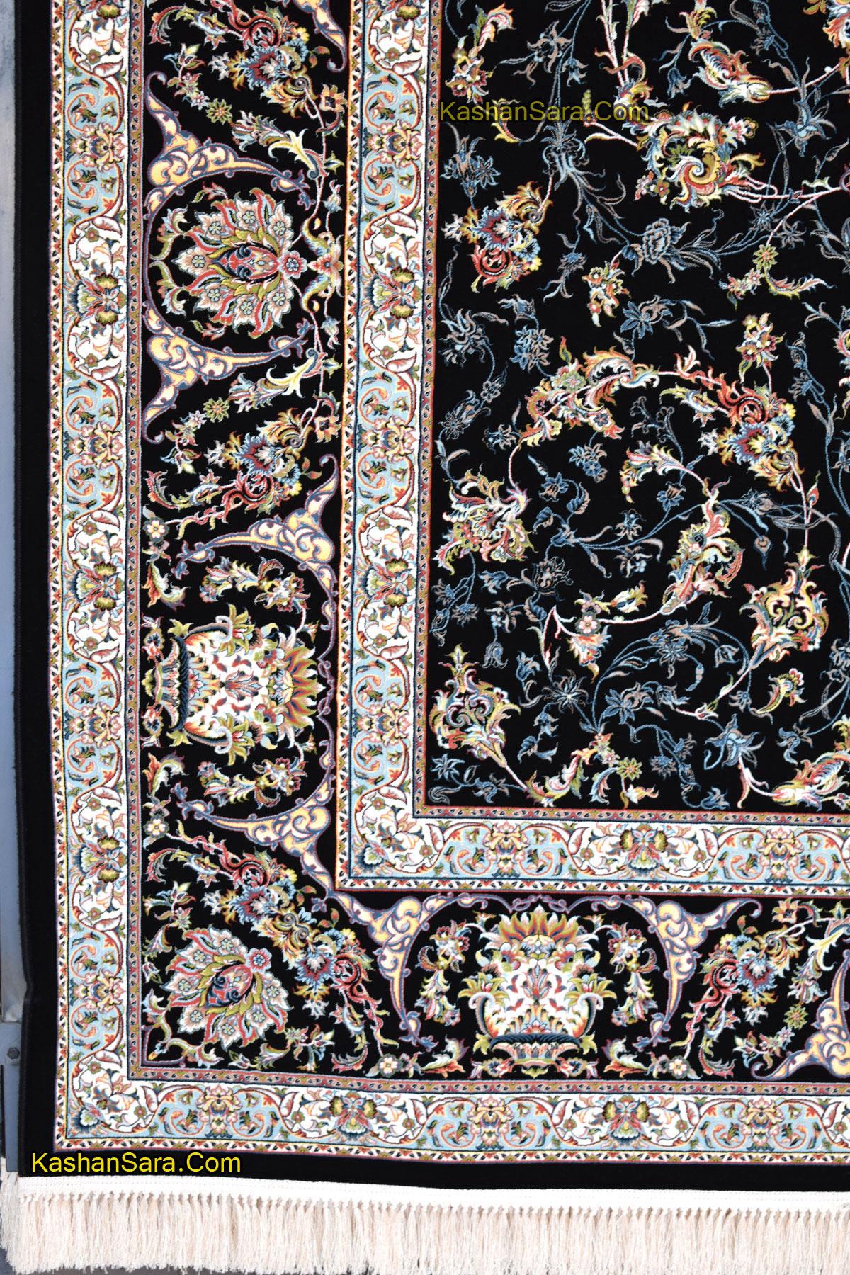 قیمت فرش ماشینی کاشان طرح ناز افشان