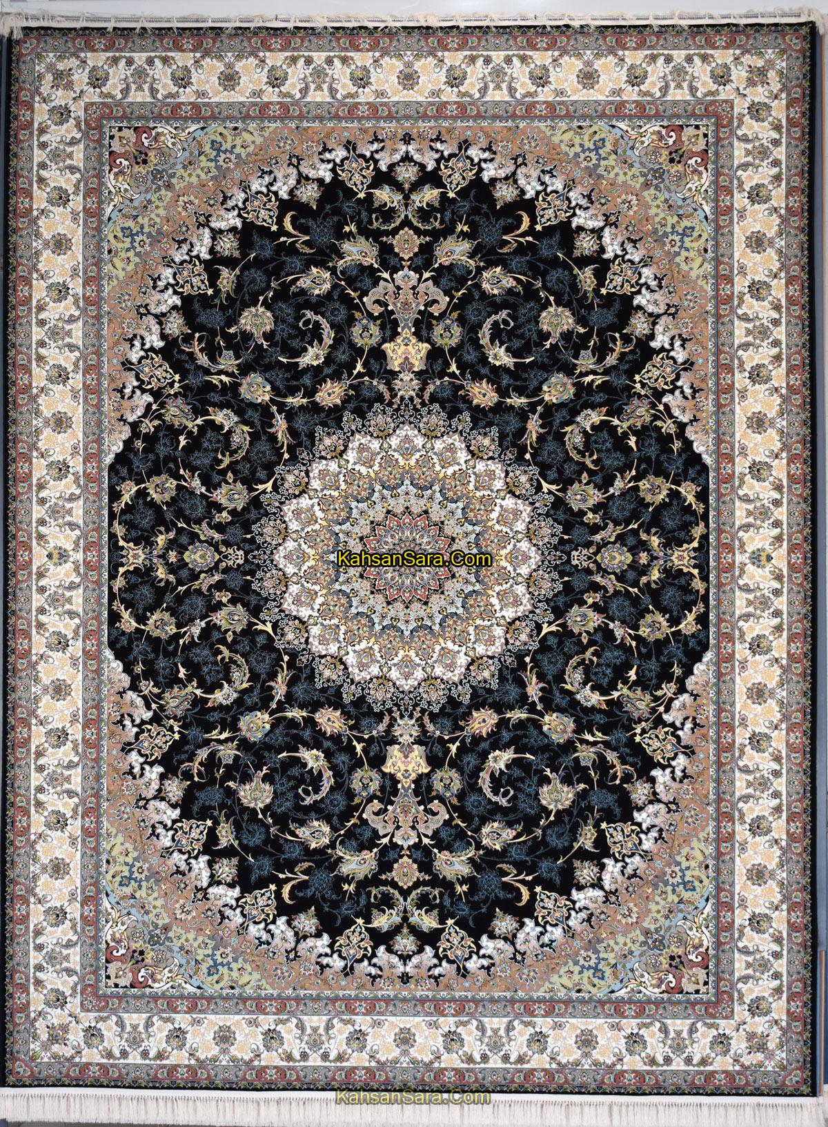 فرش ۱۲۰۰ شانه کاشان طرح اصفهان