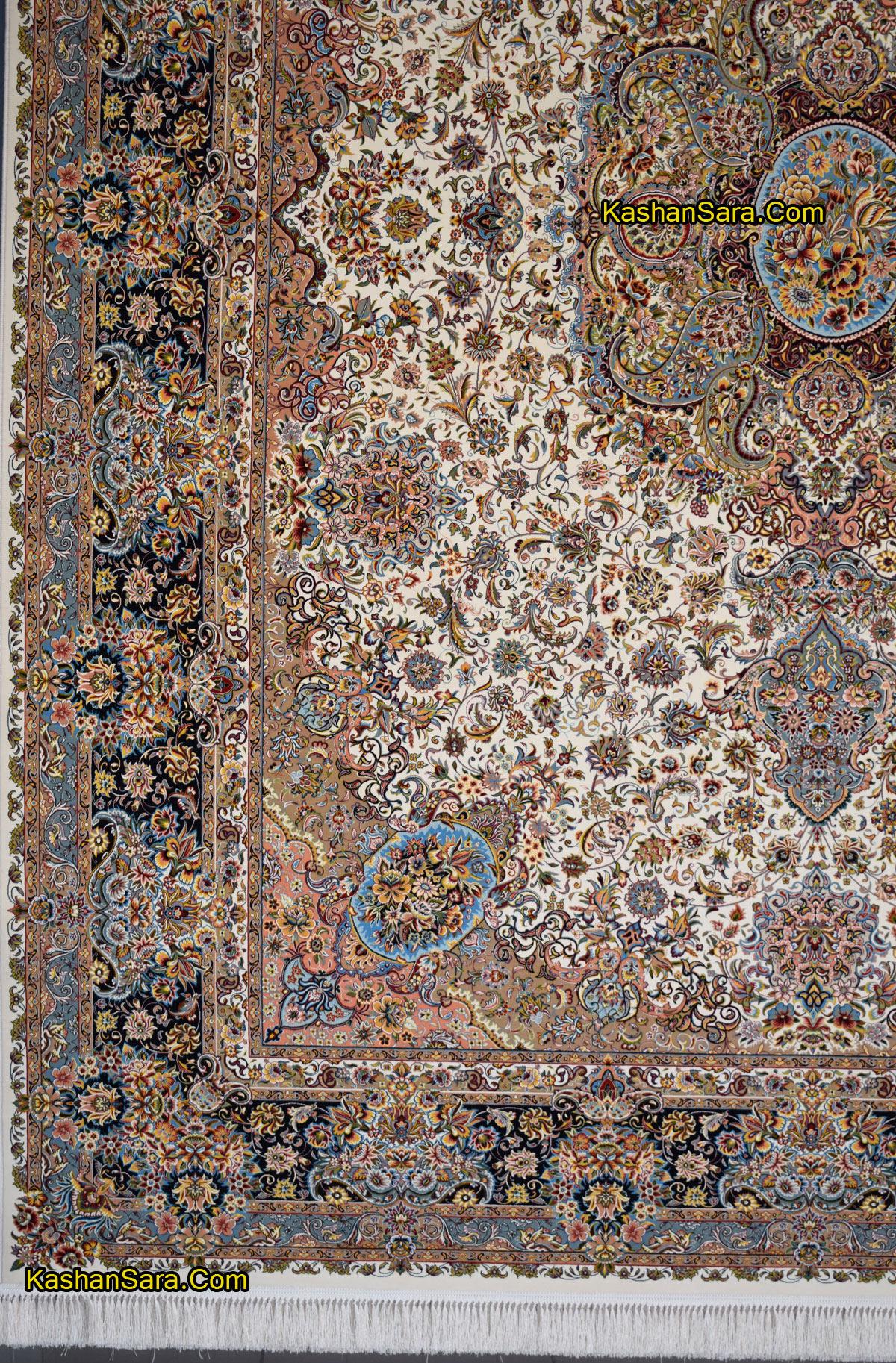 قیمت فرش ۱۲۰۰ شانه کاشان نقشه سالاری