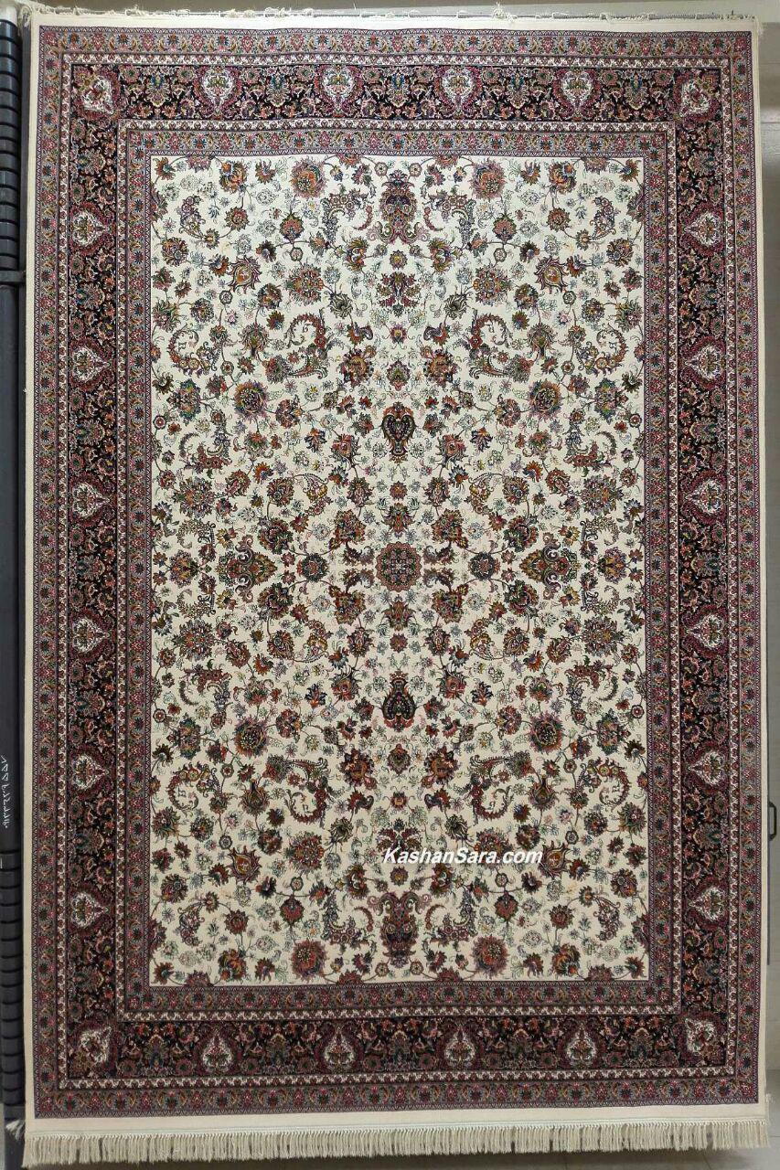 فرش ۷۰۰ شانه کاشان طرح سونیا