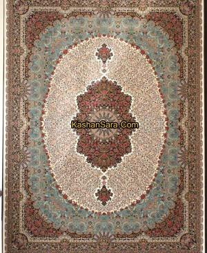 فرش ماشینی 1000 شانه طرح رز (شاهدیس)