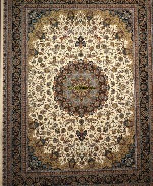 فرش 1000 شانه نقشه اصفهان کرم