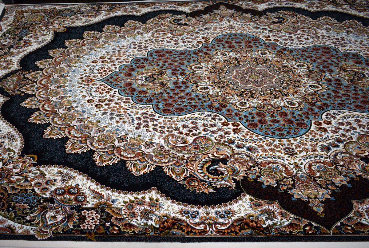 قیمت فرش ۷۰۰ شانه نقشه ارکیده