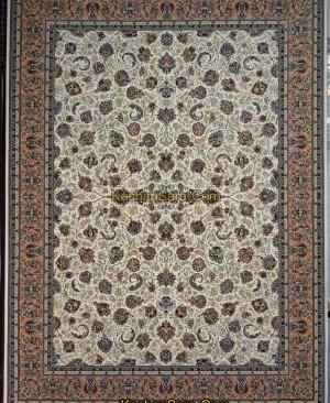 فرش افشان یادگار 1200 شانه-فرش کاشان