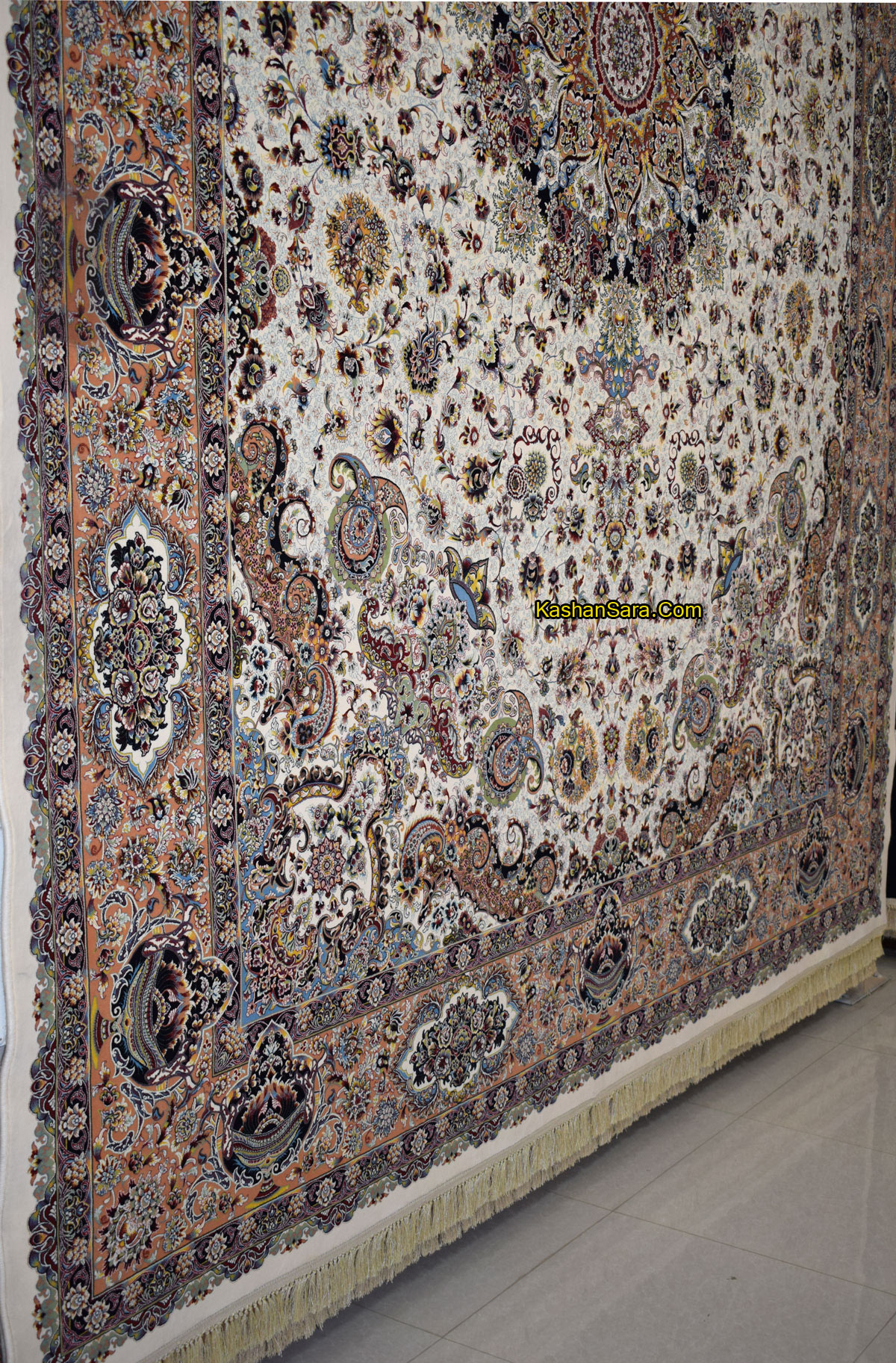 فرش ۱۲۰۰ شانه طرح قره باغی