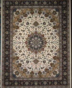 فرش کاشان طرح اصفهان 700 شانه