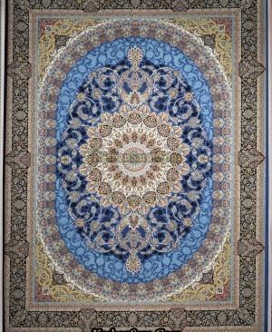 قیمت فرش 1200 شانه کاشان نقشه گل برجسته