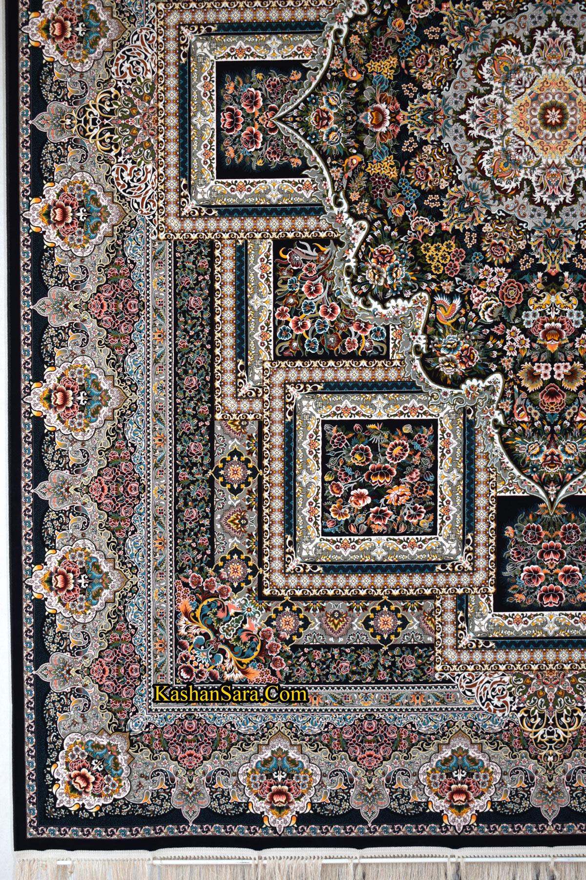 قیمت فرش ماشینی ۱۲۰۰ شانه نقشه درخشان