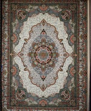 فرش کاشان-طرح صنم 1200 شانه تراکم 3600