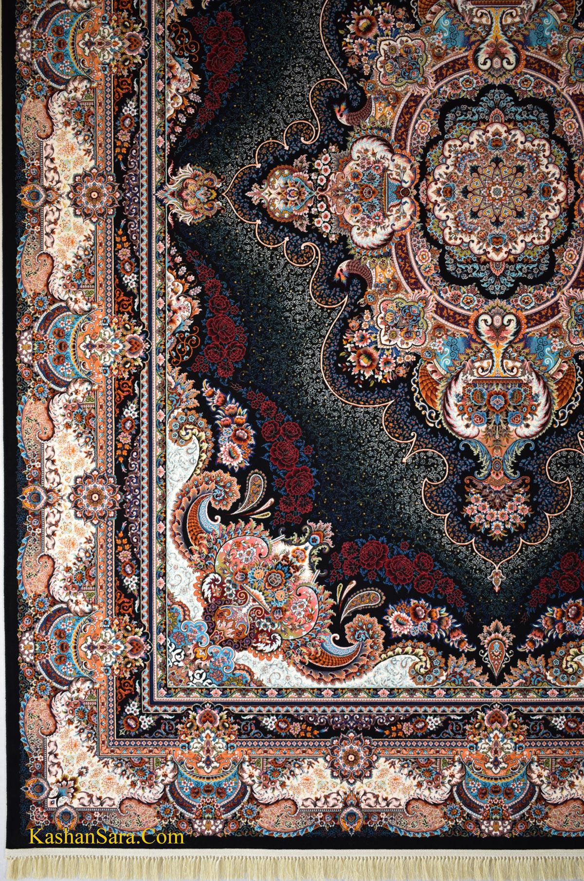 فرش ستاره ۱۰۰۰ شانه تراکم ۳۰۰۰ ده رنگ