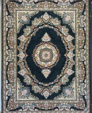 فرش کاشان- 1200 شانه تراکم 3600 طرح سلین