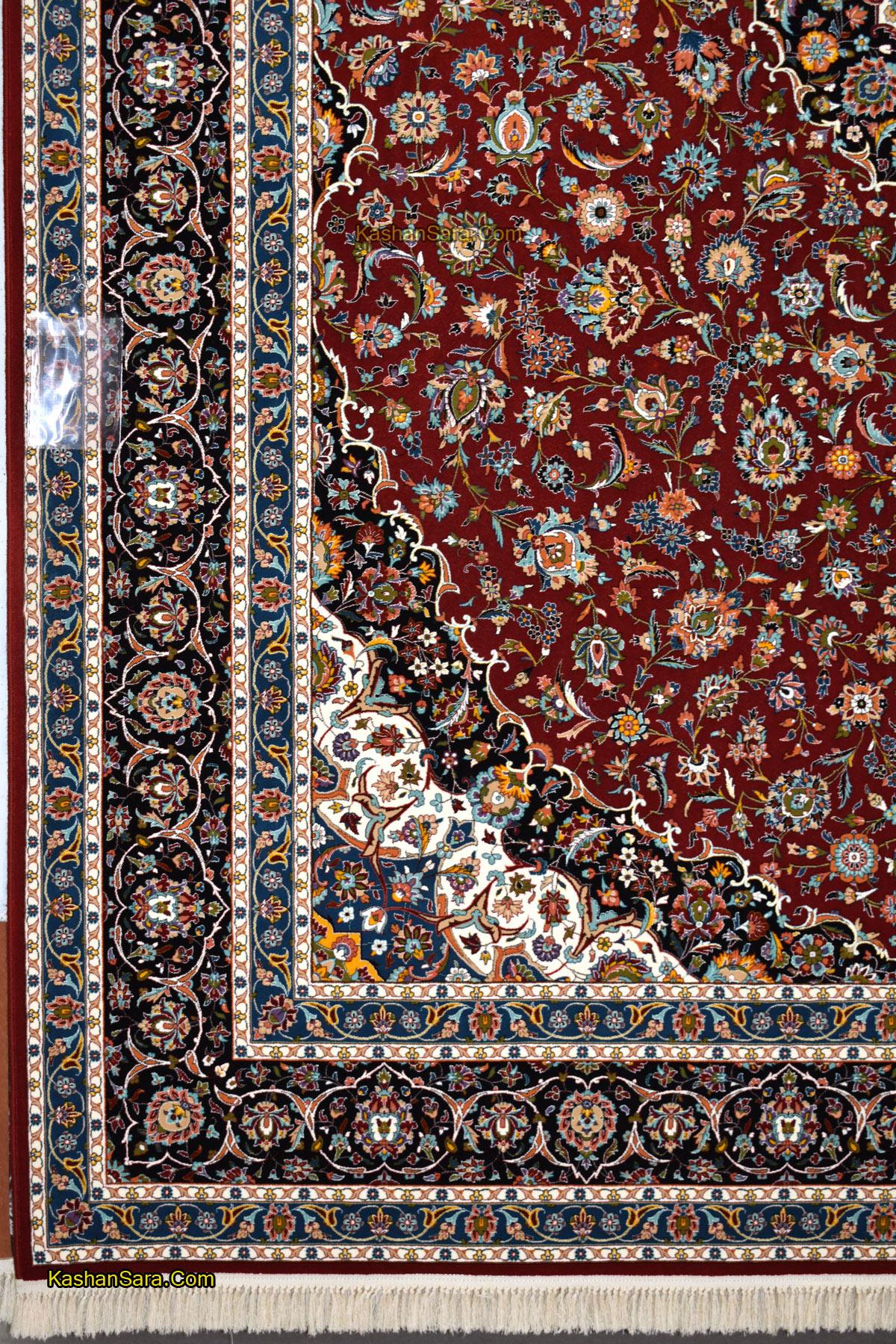 قیمت فرش ۱۰۰۰ شانه طرح کاشان