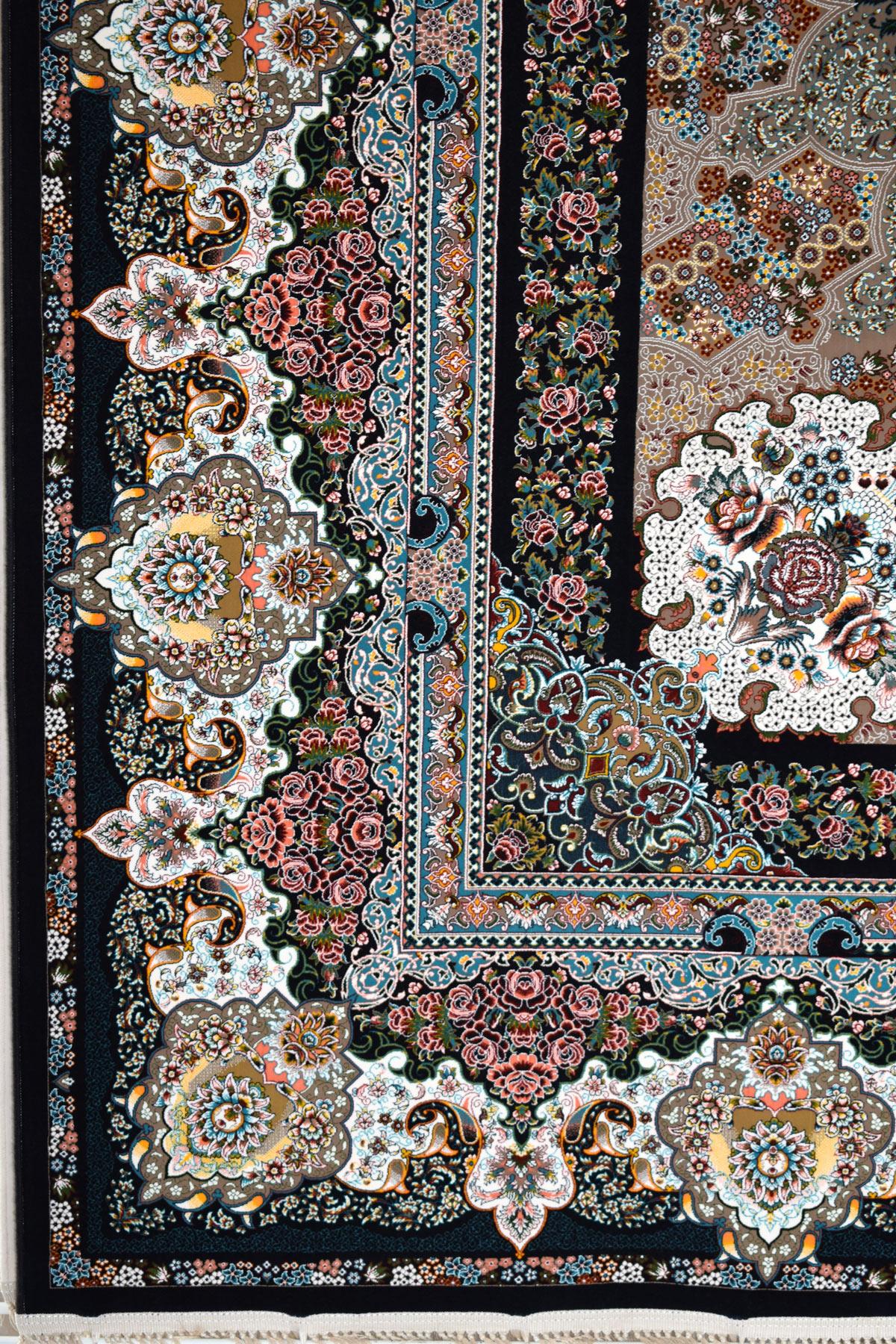 فرش ۱۲۰۰ شانه طرح نامیان با رنگبندی جدید