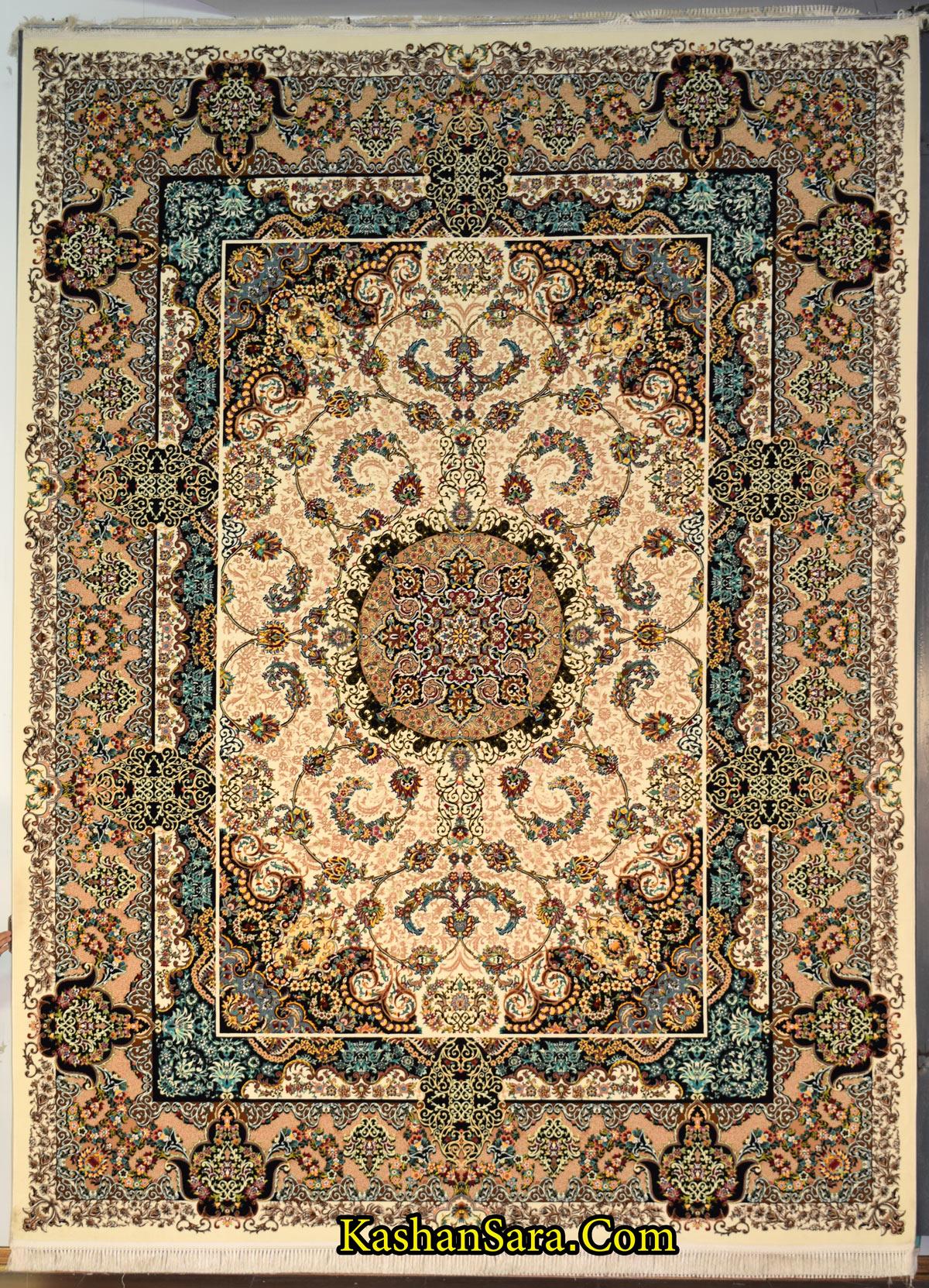 فرش ۱۲۰۰ شانه طرح جانان