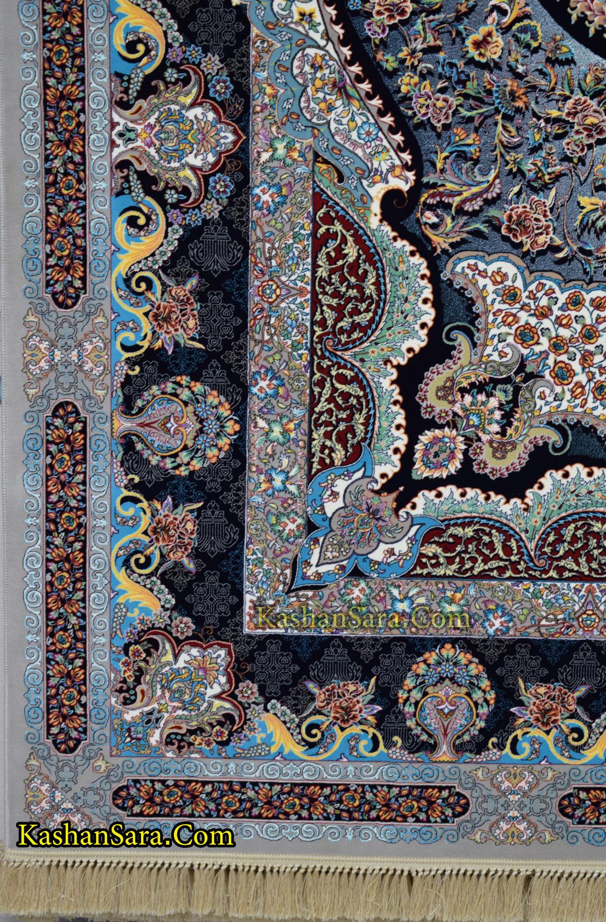 قیمت فرش ۱۲۰۰ شانه نقشه سامی