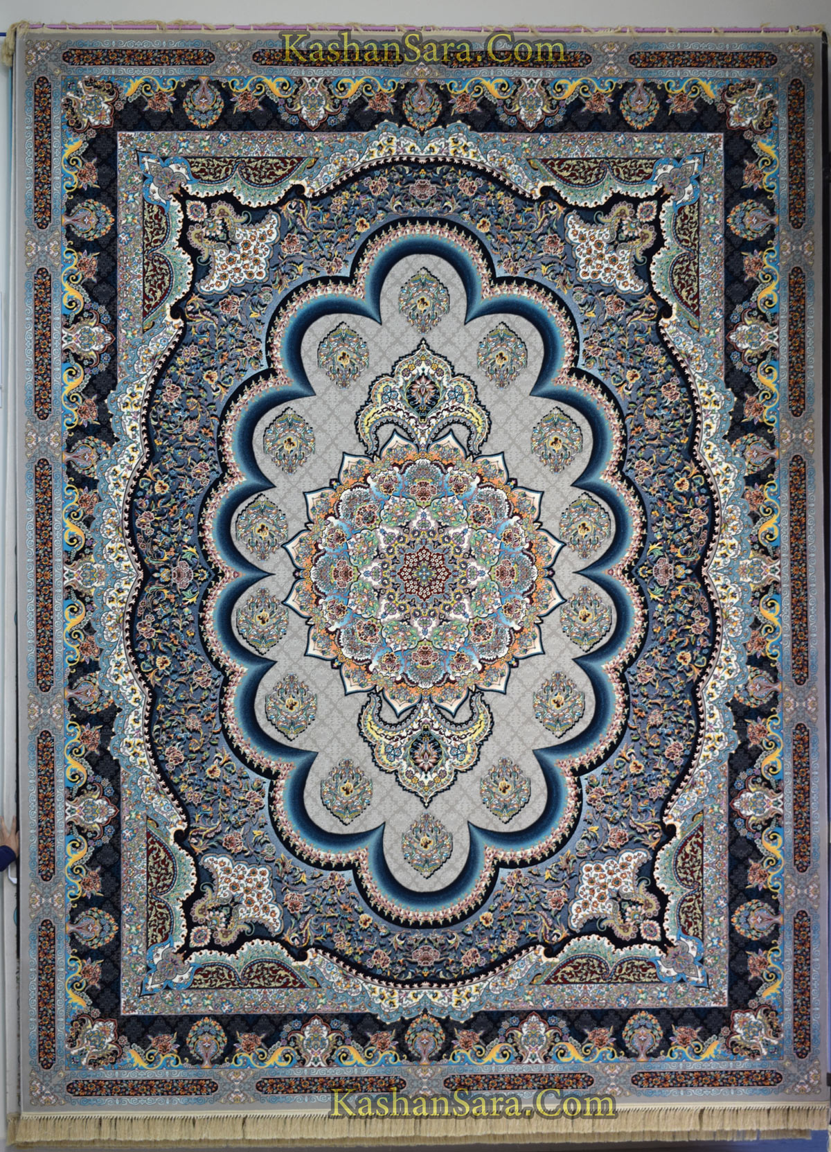فرش ۱۲۰۰ شانه طرح سامی