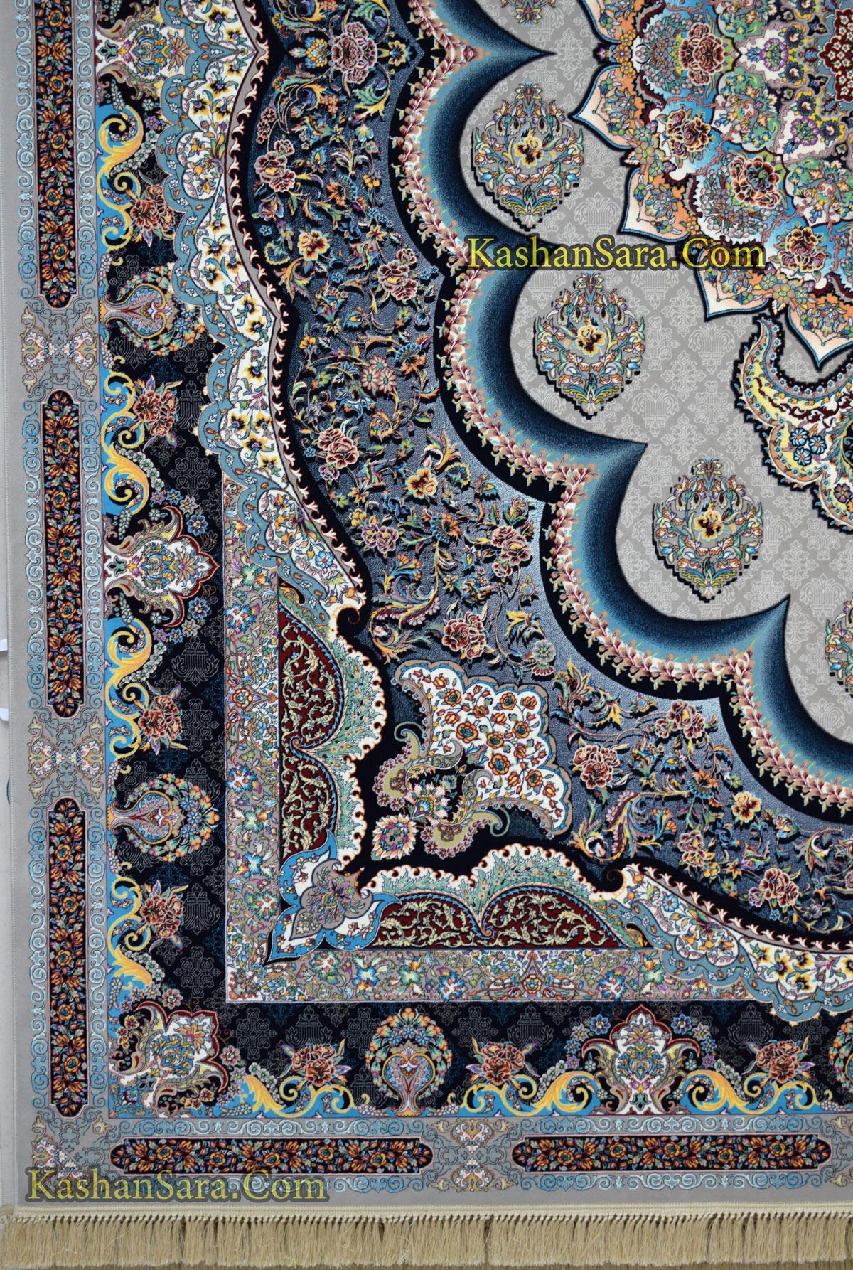 فرش نقشه سامی فیلی رنگ